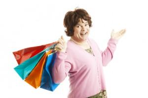 Shop until you drop, sissies!